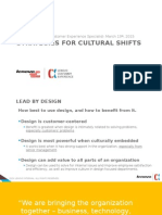 Strategies for Cultural Shifts