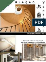 APRESENTAÇÃO - Circulação Vertical - Escada Reta - Aula 01 (1)