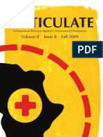 Volume II, Issue II, Fall 2009