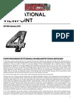 International Viewpoint, #480, January 2015