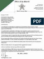 Sheriff Letter 012710