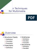 Design Techniques for Multimedia