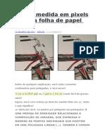 Qual a Medida Em Pixels de Uma Folha de Papel A1