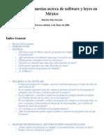 Software y Leyes en México