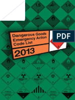 Emergency Action Code 2013