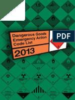 Emergency Action Code 2013