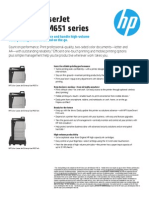 HP Color LaserJet Enterprise M651series User Guide