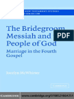Bridegroom in the 4th Gospel