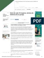 Violencia Contra La Mujer - Noticias de Salud, Educación, Turismo, Ciencia, Ecología y Vida de Hoy - ELTIEMPO