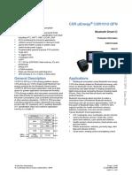 Csr1010 Data Sheet Cs-231985-Ds