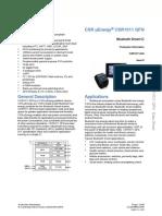 Csr1010 Data Sheet Cs-231986-Ds