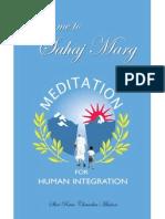 Welcome to Natural Path (Sahaj Marg) Meditation