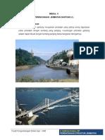 Modul 11 Perencanaan Jembatan Gantung - Ir. Edifrizal Darma Mt