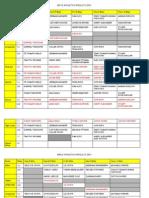 Waiouru School Athletics Results 2015