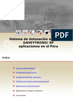 Sistemas de Detonacion Elecronica Peru