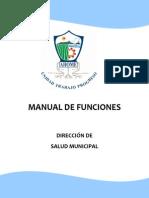 Manual de Funciones de Salud Municipal
