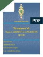 Chapitre5- Consolidation Des Sols