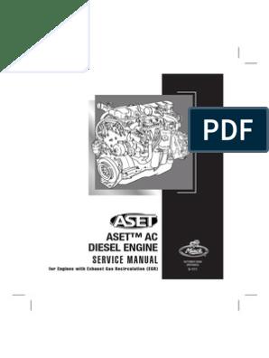 ASET AC Diesel Engine Service Manual 5-111 | Cylinder (Engine