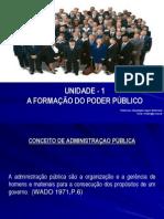 1. Aula - A Formação Do Poder Público