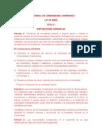 LEY GENERAL DE COMUNIDADES CAMPESINAS.docx