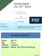 21-03-14 KPD + atonia uteri