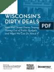 Wisconsin's Dirty Deals