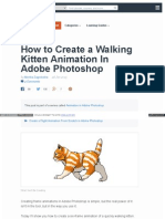 How to Create a Walking Kitten