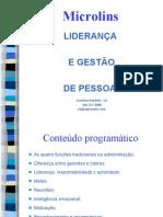LIDERANÇA E GESTÃO DE PESSOAS