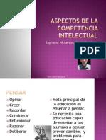 Enseñar a Pensar Aspectos de La Competencia Intelectual