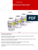 Condensate Testkit English