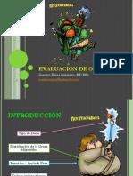 Evaluación de Obesidad Dra. Joselyn Rojas