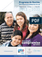 Proaire Salamanca-celaya- Irapuato 2013 2022
