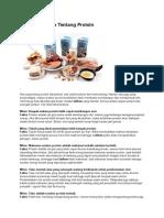 Mitos Dan Fakta Tentang Protein Dan Lemak