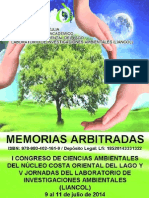 Memorias i Congreso Liancol 2014.