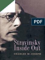 Charles M Joseph Stravinsky Inside Out