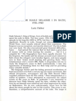 Vol 03 - 08. Haber - The Emperor Haile Selassie I in Bath, 1936-1940