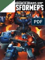 Transformers #39—Combiner Wars Opening Salvo Preview