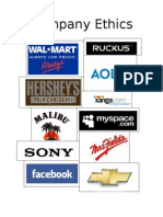 Unethical Companies in the Media