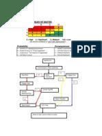 Safety Observation-Near Hit Matrix Flow Chart
