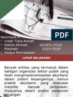 Adopsi IPSAS Oleh PSAP