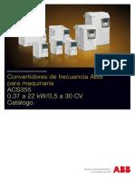 Catálogo ACS355