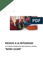 Informe EELA Honduras ASJ