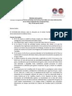 Boletín Informativo. Volcanes Turrialba y Poás.