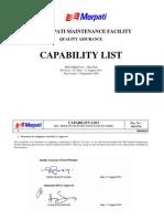Capability List 16