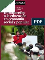 BONILLA & EL TROUDI, Introduccion a la educacion en economia social y popular