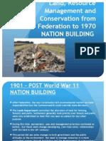 6 - land, resource management & conservation fed - 1970