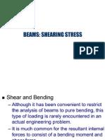 Shear Stress in Beams