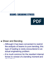 Shear Stress in Beams