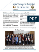 2015 - 1st Qtr NYK Newsletter