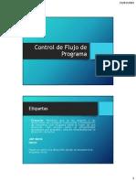 Clase 4. Control de Flujo de Programa.pdf